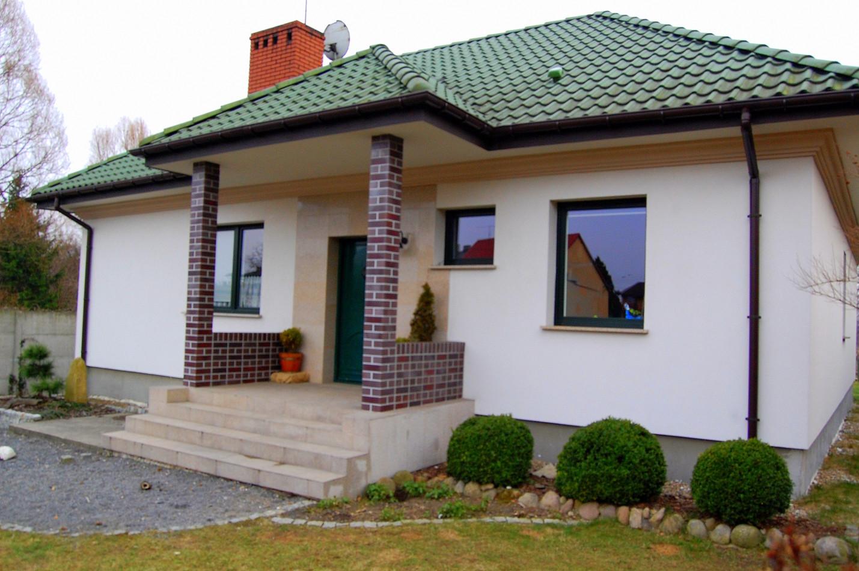 Elewacje domów jednorodzinnych - Konwaliowa